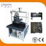 China Non - Blocking Nut Crashing Chute Screw Tightening Machine With 0.01mm Precision wholesale