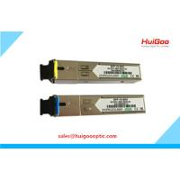 China 1.25G SFP Module 1000Base SFP BIDI DDM Single Fiber 120km Fiber Optical Transceiver on sale