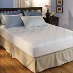 China Hotel 500 Tc Egyptian Cotton Mattress Pad wholesale