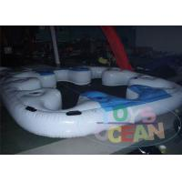 China TPU Clear Body Inflatable Water Game  Rental Security For 8 Persons wholesale