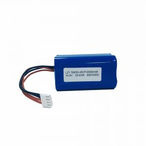 China UN38.3 14.8V 2000mAh Liion Battery Pack IEC62133 Lithium Ion Battery Pack wholesale