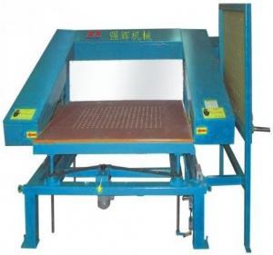 China Manual PU Foam CNC Cutting Machine For Special Shaped Slicing Foam wholesale