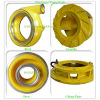 China Cast Process Suction Dredge Pump Dredge Pump Parts OEM / ODM Available wholesale