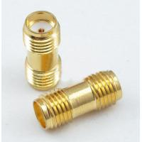 China SMA female jack to SMA female jack Straight RF Connector Adapter wholesale