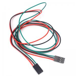 China Optional 3Pin 70cm Female To Female Cable DuPont Jumper Wire wholesale