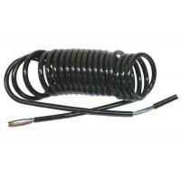 China Coiled Power Cord  , Curly Electric Cable For Truck Trailer Signal Transmission wholesale