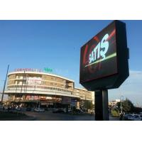 SMD3535 Clear LED Video Walls , outdoor advertising led display screen p10 IP65 LED Wall direct factory price