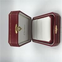 China Fine Fabric Jewellery Presentation Boxes , Customized Square Jewelry Gift Boxes wholesale