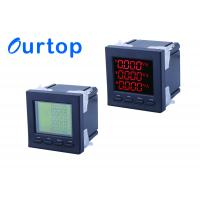 China 80~270V Multifunction Digital Panel Meter With Programmable Measurement wholesale