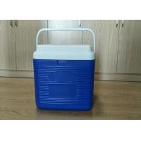China 24L Plastic Foam Green Cold Chain Pcm Packaging Cooler Box With Handle In Medical wholesale