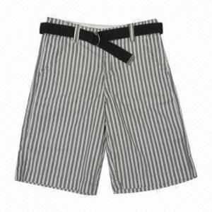 China Yarn Dye Shorts wholesale