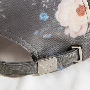 China Curved Brim 6 Panel Snapback Sports Hat With Custom Logo wholesale