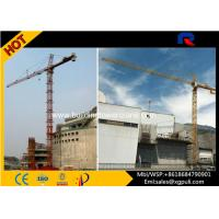 China Topkit External Climbing Tower Crane Height Anchorage120m With Ergonomic Cabs wholesale