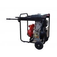 China Cast Iron High Pressure Water Pump Big Fuel Tank KDP30H With Handles And Wheels wholesale