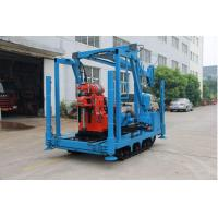 China Large Power Spindle Speed Diamond Drill Rig 22kw 1470rmp Drilling Depth Up To 600 Meters wholesale