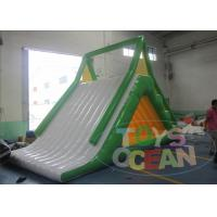 China Inflatable Water Summit Inflatable Water Game Water Slide 6x4x3m wholesale