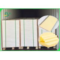 China 70GSM 80GSM Yellow Woodfree Paper / Bond Paper 100% Virgin Pulp FSC Certified wholesale