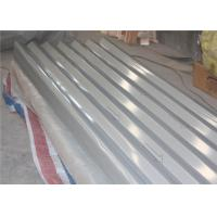 China High Strength 1050 1060 Aluminum Corrugated Sheet 0.75MM O - H116 Hard Temper wholesale