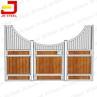 Buy cheap Durable Easy To Stall Steel Horse Stables Durable Wood Materials from wholesalers