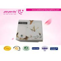 China White Anion Sanitary Napkin Napkins With Super Absorbent , Strip Package wholesale