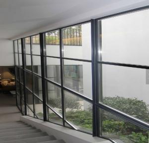 China curtain wall aluminum windows glass wall on sale