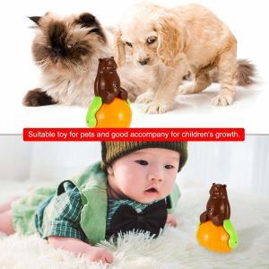 China Christmas gift tumbler cat toy funny tumbler pet cat dog toy sunds Light wholesale