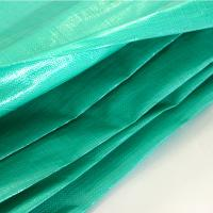 Buy cheap Green PE plastic waterproof tarpaulin 4x5m in standard size or folding roll from Linyi from wholesalers
