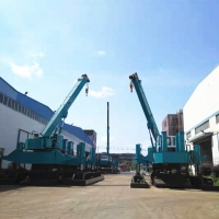 China 1800KN Driving Force High Piling Speed Hydraulic Sheet Pile Driver wholesale