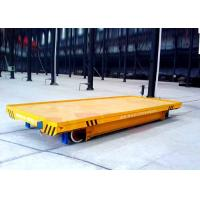 China KPD-16T Steel box beam flatbed body motorized transfer trolleys wholesale