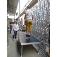 China Simple  Anti-slip Waterproof Plywood Movable Stage Platform For Concert wholesale