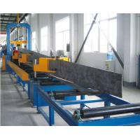 China Steel Plate Cutting , H beam Assemblying ,H Beam Gantry Welding , Flang Plate Straightening , H Beam Production Line wholesale
