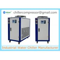 China 208V 60Hz Portable Small Air Cooled 5hp Glycol Chiller for Beer Processing on sale