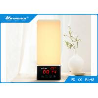 China DC power supply Bluetooth Lamp Speaker with FM Radio / clock time function wholesale