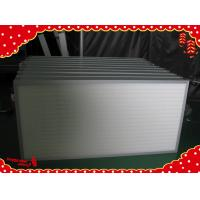 China 610x610x69mm High efficiency particulate minipleat Hepa air filters H13 wholesale
