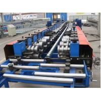 China 13m*1.4m*1.4m Cable Tray Roll Forming Machine with Hydraulic Punching and Cutting on sale