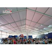 Quality Aluminum A Frame Heavy Duty Flame Retardant PVC Structure Outdoor Exhibition Tents with White PVC Sidewalls for sale