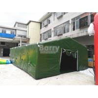 Buy cheap Giant Air Sealed Or Air Military Inflatable Frame Tent For Outdoor Party Or from wholesalers