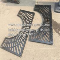 China OEM New Design Strong & Durable 1270mm Diameter Round Shape Cast Iron Tree Grate in two halves wholesale