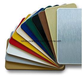 China 3mm PE Aluminum Composite Panel Surface Brushed Anodized wholesale