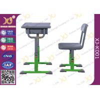 China Economic Modern Standard School Table Chair Set For Single Student wholesale