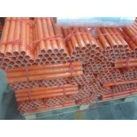 China OEM/ODM FRP Fiberglass reinforced plastic pipe / tube , CR XCR VE Type wholesale