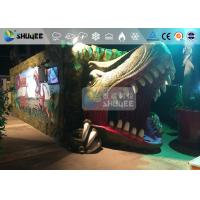China Fantastic Mobile 7D Movie Theater Dinosaur Cinema For Theme Park wholesale