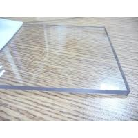 China Transparent Polycarbonate Sheet / Uv Resistant Polycarbonate Sheets Sound Barrier wholesale