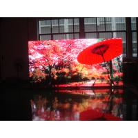 China Aluminum / iron cabinet P8 indoor advertising led stage display screen on sale