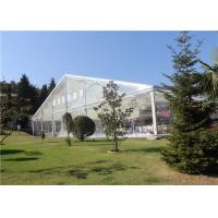 China Transparent  Aluminum Customized Canopy Tent 10m * 15m With Clear Top / Side wholesale