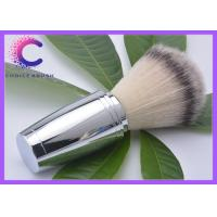 China Deluxe 100% Synthetic Fiber Hair Shaving Brush Non - Slip Handle wholesale