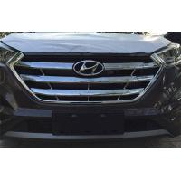 China  Hyundai New Tucson 2015 2016 IX35 New Auto Accessories Front Grille Chromed Frame  for sale