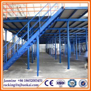 China 2015 New Pallet Rack Supported Iron Steel Warehouse Storage Mezzanine wholesale