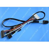 Quality Serial Attached SCSI SAS SFF 8087 TO SFF 8482 Cable 28AWG Multi–Port Length 65cm for sale