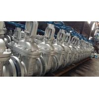 China Cast Steel Flanged Gate Valve Be Glass 300 LBS , Bolted Bonnet , O. S And Y With R.F wholesale